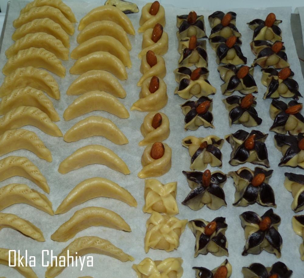 pâtisserie orientale-cornes-de-gazelles
